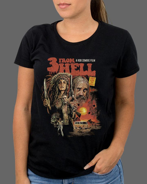 Three From Hell - Womens Shirt