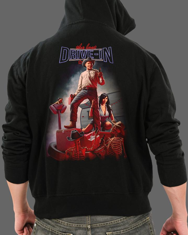 Drive-In of Darkness - Zippered Hoodie