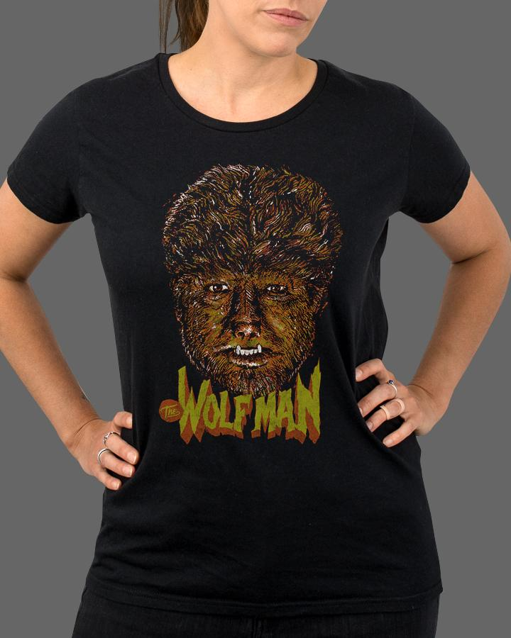 The Wolf Man - Womens Shirt