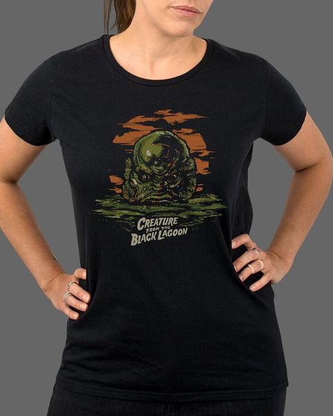 The Creature from the Black Lagoon - Womens Shirt