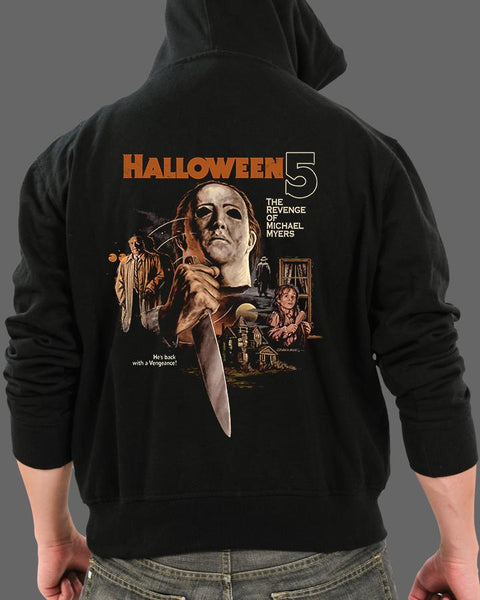 Halloween 5: The Revenge of Michael Myers - Zippered Hoodie