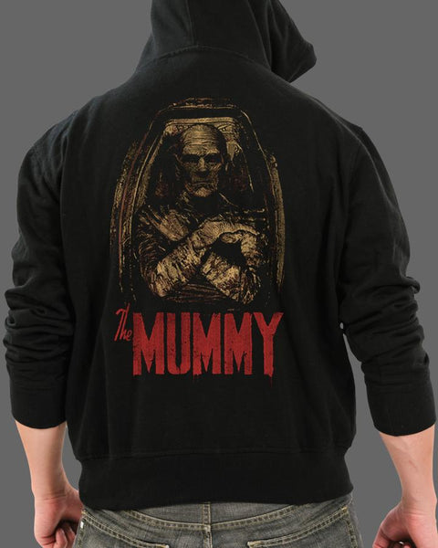 The Mummy - Zippered Hoodie