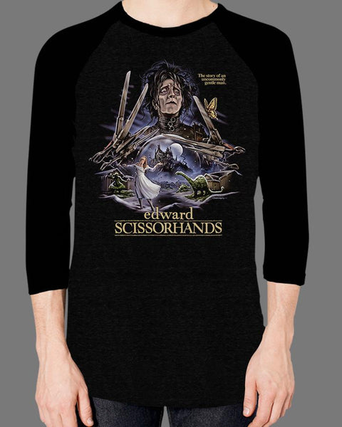 Edward Scissorhands - Baseball Tee