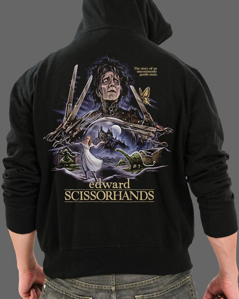 Edward Scissorhands - Zippered Hoodie