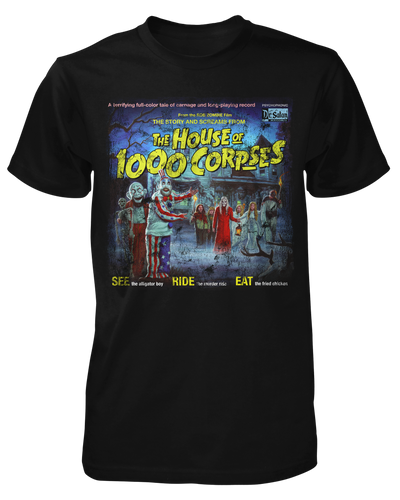 The Sounds of the House of 1000 Corpses Shirt Fright-Rags