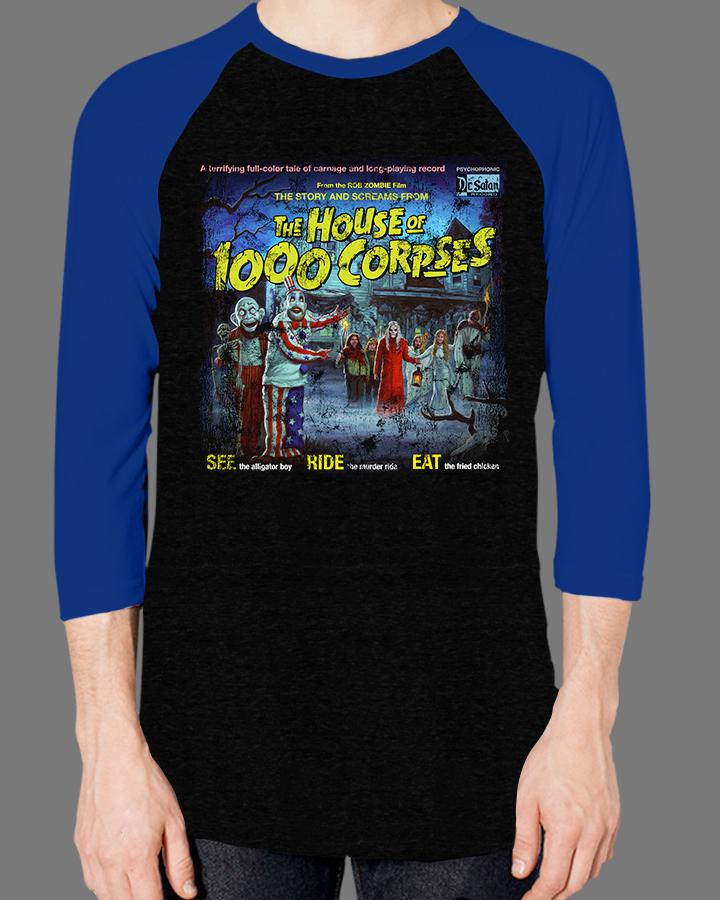 The Sounds of the House of 1000 Corpses - Baseball Tee