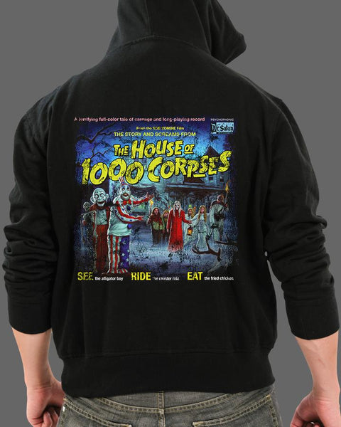 The Sounds of the House of 1000 Corpses - Zippered Hoodie