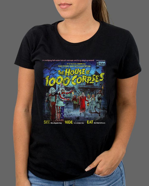 The Sounds of the House of 1000 Corpses - Womens Shirt