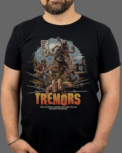 Tremors Shirt Fright-Rags
