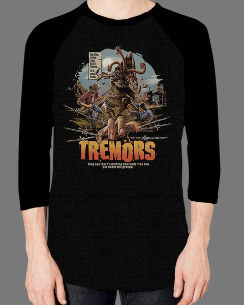 Tremors - Baseball Tee