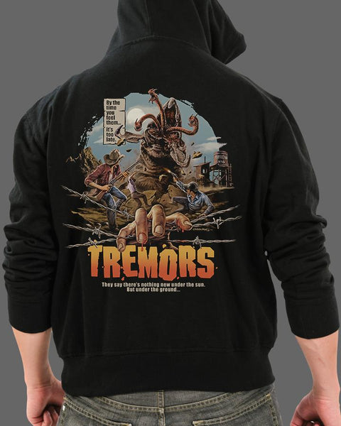 Tremors - Zippered Hoodie