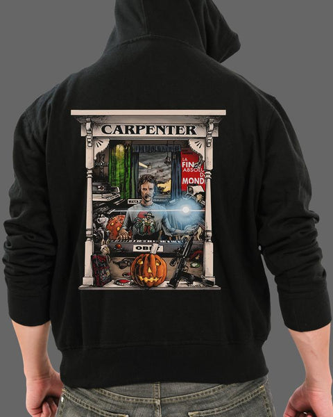 The Master Carpenter - Zippered Hoodie