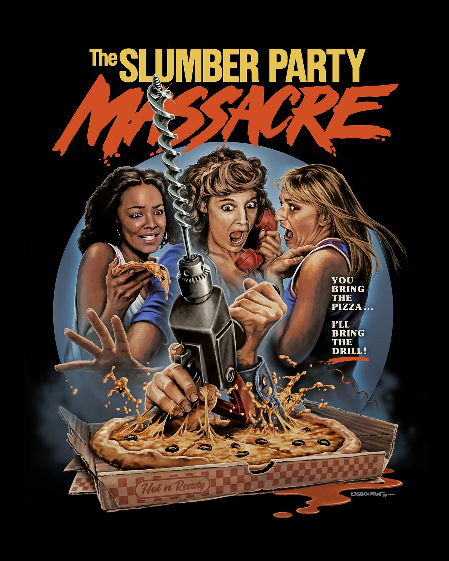 THE SLUMBER PARTY MASSACRE - Officially Licensed Horror T-Shirt –  Fright-Rags
