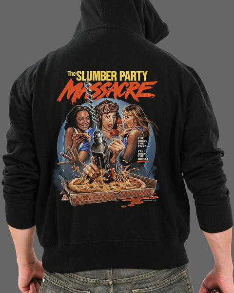 The Slumber Party Massacre - Zippered Hoodie
