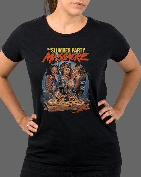 The Slumber Party Massacre - Womens Shirt
