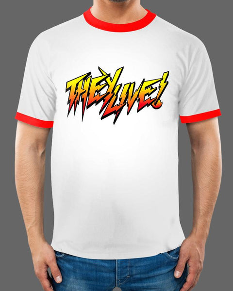 They Rowdy - Ringer Tee