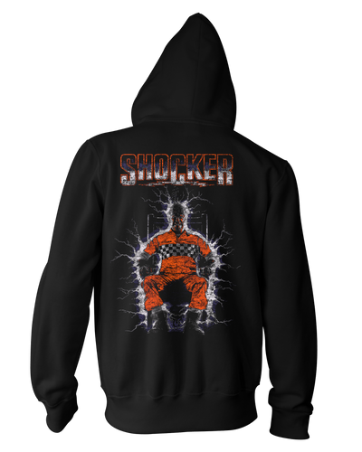 Shocker Classic - Zippered Hoodie Hoodie Fright-Rags