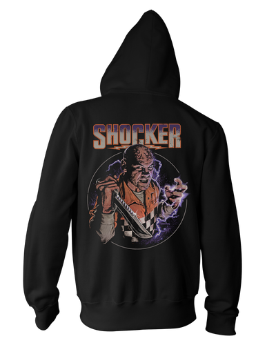 Shocker - Zippered Hoodie Hoodie Fright-Rags