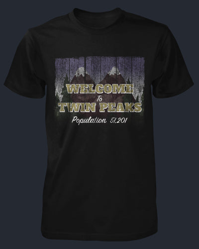 Welcome to Twin Peaks Shirt Fright-Rags