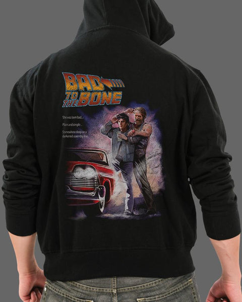 Bad to the Bone - Zippered Hoodie