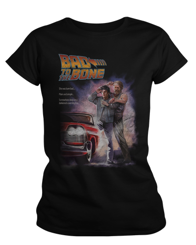 Bad to the Bone - Womens Shirt Fright-Rags