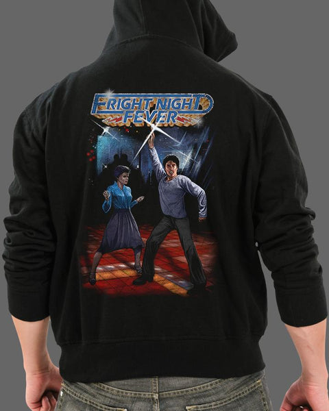 Fright Night Fever - Zippered Hoodie