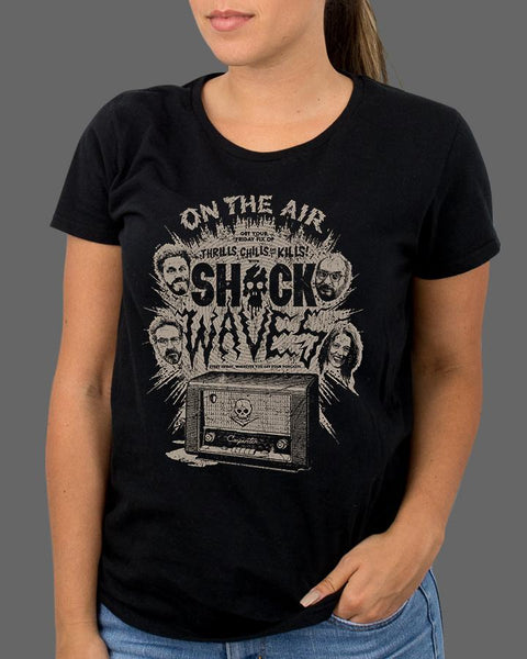 Shock Waves - On the Air - Womens Shirt (SHIPS THE WEEK OF APR 24TH)
