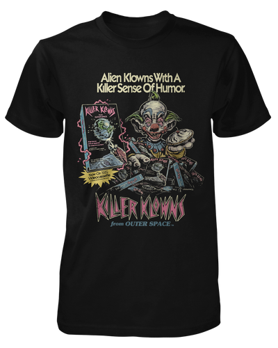 Killer Klowns on Video Shirt Fright-Rags