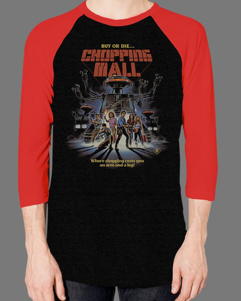 Chopping Mall - Baseball Tee