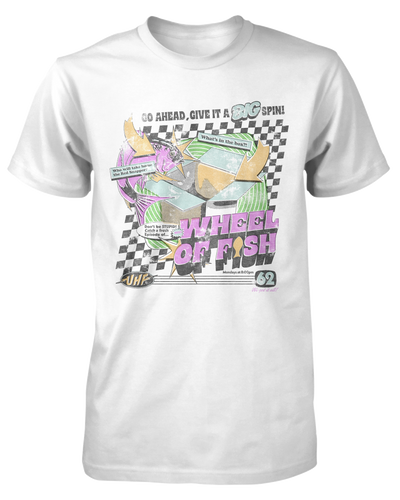 Wheel of Fish Shirt Fright-Rags