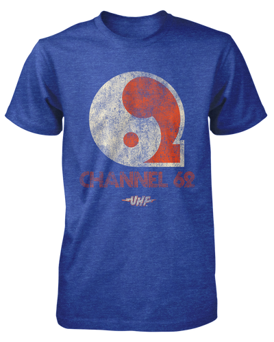 UHF Channel 62 Shirt Fright-Rags