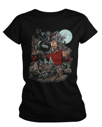 The Godfather of Gore - Womens Shirt Fright-Rags