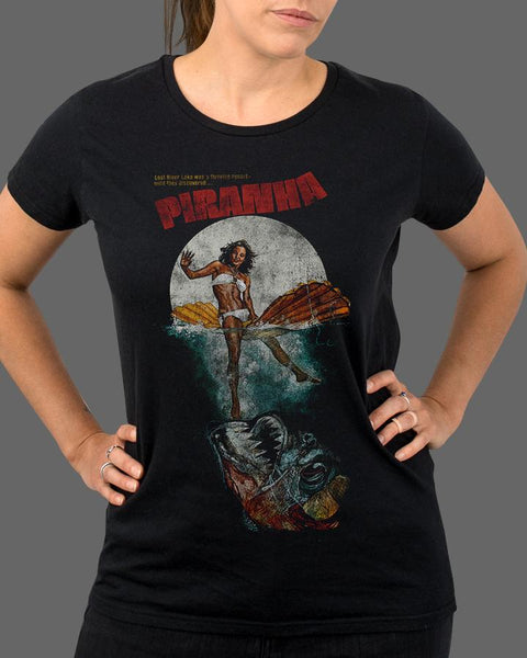 Piranha Classic - Womens Shirt (SHIPS THE WEEK OF JULY 24TH)
