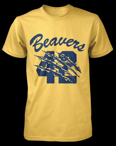 Beacon Town Beaver #42 Shirt Fright-Rags
