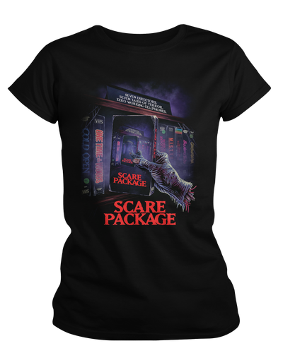 Scare Package - Womens Shirt Fright-Rags