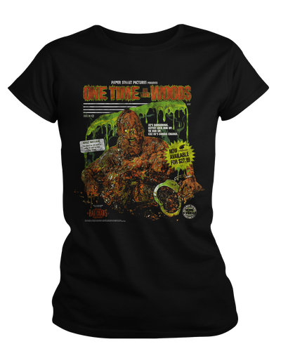 One Time in the Woods - Womens Shirt Fright-Rags