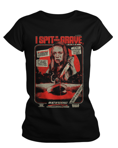 I Spit On Your Grave - 40th Anniversary - Womens Shirt Fright-Rags