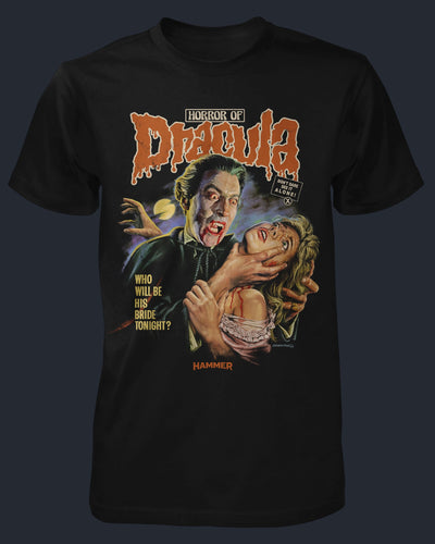 Horror of Dracula Shirt Fright-Rags