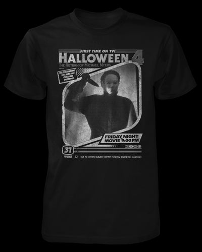 Halloween 4 - TV Ad Shirt Fright-Rags