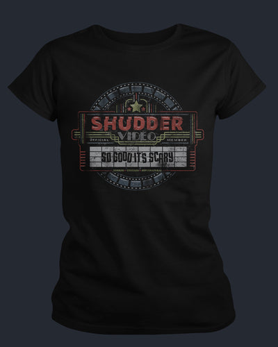 Shudder - Silver Scream - Womens Shirt Fright-Rags