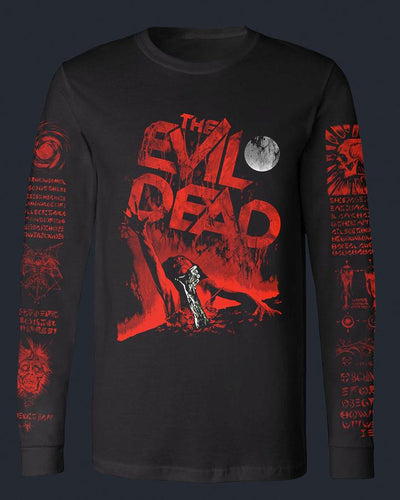The Evil Dead - Long Sleeve Baseball Fright-Rags