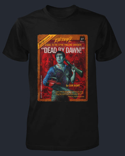 Evil Dead II - Pulp Novel Shirt Fright-Rags