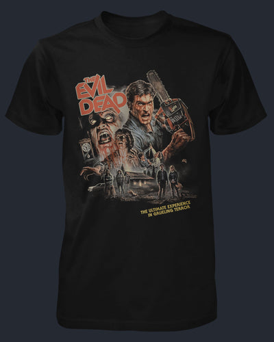 The Evil Dead - 40th Anniversary Shirt Fright-Rags