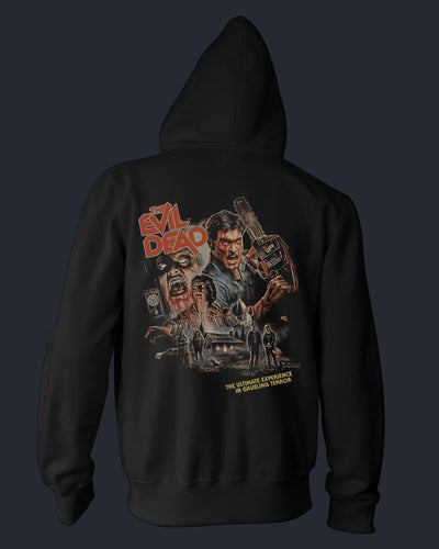 The Evil Dead - 40th Anniversary - Zippered Hoodie Hoodie Fright-Rags