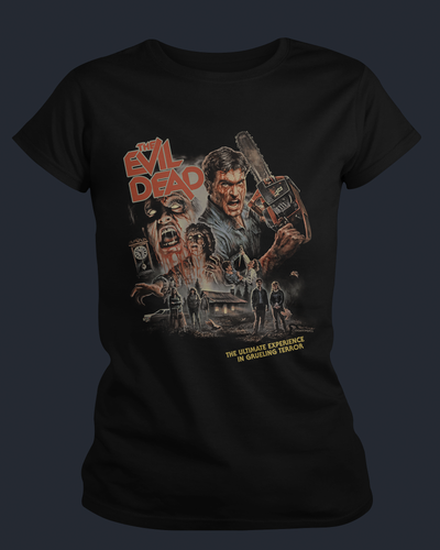 The Evil Dead - 40th Anniversary - Womens Shirt Fright-Rags
