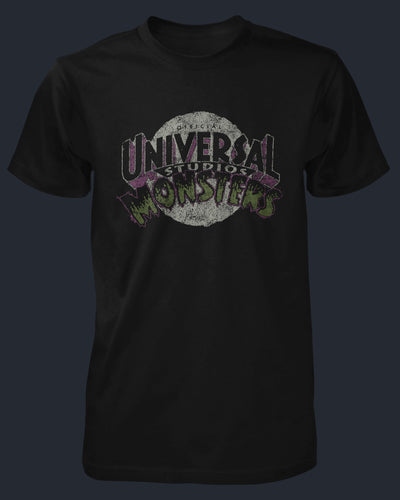 Universal Monsters Vintage Logo Shirt Fright-Rags