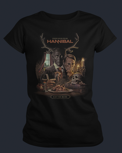 Hannibal - Womens Shirt Fright-Rags