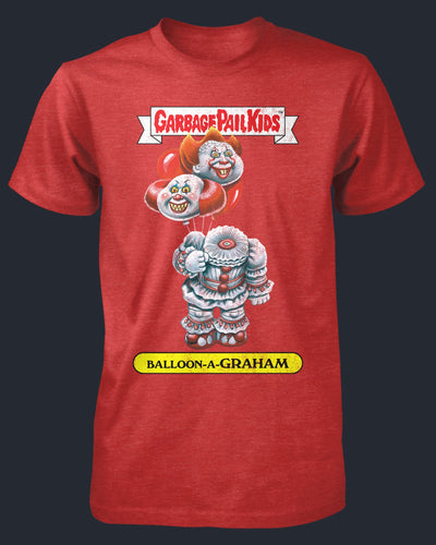 Garbage Pail Kids - Balloon-a-Graham Shirt Fright-Rags