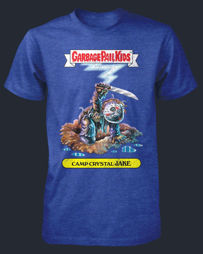 Garbage Pail Kids - Camp Crystal Jake Shirt Fright-Rags