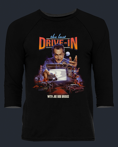 The Last Drive-In Season 3 - Baseball Tee Baseball Fright-Rags